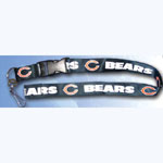 Team Logo Lanyard (Necklace Keychain) - NFL Chicago Bears