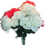 #16026 12 BUDS MISTY ROSE BOUQUET