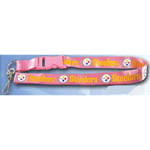 Team Logo Lanyard (Necklace Keychain) - NFL Pittsburgh Steelers
