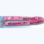 Team Logo Lanyard (Necklace Keychain) - NFL Seattle Seahawks