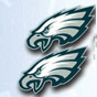 Primary Logo Post Earrings - NFL Philadelphia Eagles
