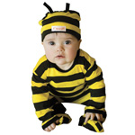 Cotton Bumble Bee All-Day Cute Baby Outfit