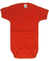 Cotton Short Sleeved  Infant Onesies  in Dark Color (with bulk discounts)