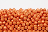 Pearl Orange Sixlets (1 Pound Bag)
