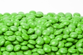 Green Milk Chocolate M&M's Candy (5 Pound Bag)