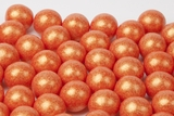 Pearl Orange Gumballs (4 Pound Bag)