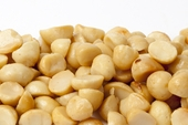Roasted Macadamias Halves and Pieces (1 Pound Bag)