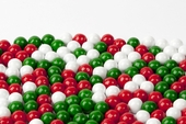 Christmas Sixlets (1 Pound Bag)