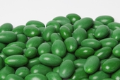 Dark Green Jordan Almonds (1 Pound Bag)