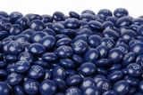Dark Blue Milk Chocolate M&M's Candy (1 Pound Bag)