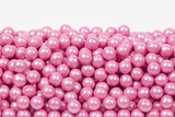 Pearl Bright Pink Sixlets (1 Pound Bag)