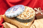 32oz Superior Mixed Nuts Holiday Gift Tin