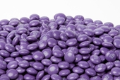 Purple Milk Chocolate M&M's Candy (1 Pound Bag)