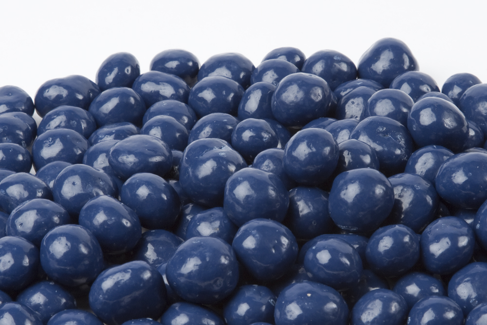 blue chocolate covered blueberries from nuts in bulk chocolate