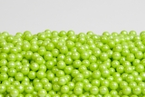 Pearl Lime Green Sugar Candy Beads (5 Pound Bag)