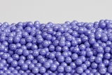 Pearl Lavender Sugar Candy Beads (10 Pound Case)