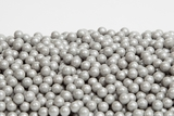 Silver Sugar Candy Beads (5 Pound Bag)