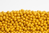 Gold Sugar Candy Beads (10 Pound Case)