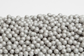 Silver Sugar Candy Beads (1 Pound Bag)