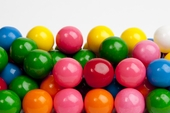 Assorted Gourmet Gumballs (1 Pound Bag)