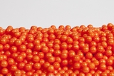 Pearl Orange Sugar Candy Beads (1 Pound Bag)