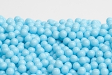 Light Blue Sugar Candy Beads (1 Pound Bag)