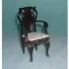 Arm Chair  Mahogany    <br />JG042