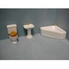 Corner  Bathroom Set   <br />T0523