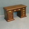 Library Desk, Walnut    <br />T6148