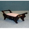 Foot Stool, Walnut           <br />G9615