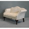 Queen Anne Loveseat    <br />T3163D