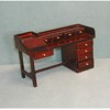 Nine-Drawer Desk, Mahogany     <br />T3465