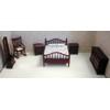 Double Bedroom Set, Mahogany     <br />TLF007