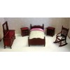 Single Bedroom Set, Mahogany  <br />TLF009