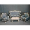 Victorian Resin Living Room Set      <br />SC46368