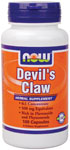 Devil's Claw 500 mg - 100 Capsules, NOW Foods