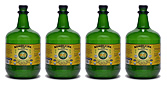 Ginger Kombucha Tea - 3 Liter / 101 oz. bottles Case of 4, Kombucha 2000