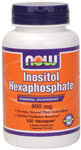Inositol Hexaphosphate 800mg - 100 VCaps, NOW Foods