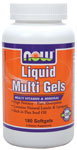 Liquid Multi Gels - 180 Softgels, NOW Foods
