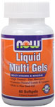 Liquid Multi Gels - 60 Softgels, NOW Foods