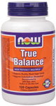 True Balance  ( Multi-Vitamin supporting Natural Glucose Metabolism ) - 120 Capsules, NOW Foods