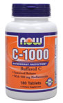 Vitamin C-1000 Complex  - 180 Tabs, NOW Foods