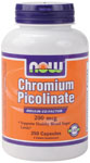 Chromium Picolinate 200 mcg - 250 Capsules, NOW Foods