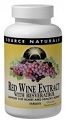 Red Wine Extract with Resveratrol, 30 Tablets, Source Naturals