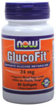 GlucoFit - 60 Softgels, NOW Foods