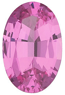 Pink Spinel Oval Cut in Grade GEM