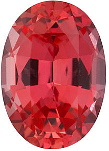 Chatham  Padparadscha Sapphire Oval Cut in Grade GEM