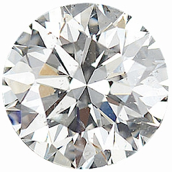 0.25 Carat Total Weight Genuine Diamond Parcel 10 Pieces, 1.24 - 1.40 mm Size Range  SI2/3 Clarity - I-J Color