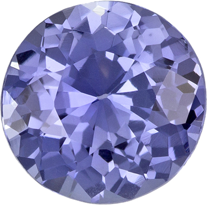 No Treatment Cornflower Blue Sapphire Gem in Round Cut, 6.3 x 3.56 mm, 1.00 carats - GIA Certed