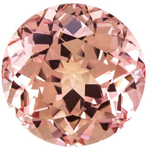 Grade GEM CHATHAM CHAMPAGNE SAPPHIRE Round Cut Gems - Calibrated